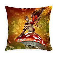 Autumn Fairy Everyday Pillow
