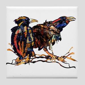 Raven Trio Art Tile