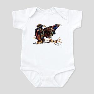 Raven Trio Infant Creeper