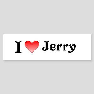 I heart Jerry Bumper Sticker