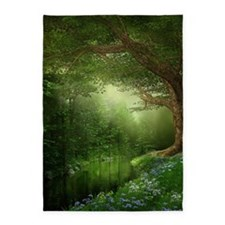 Summer Forest River 5'x7'area Rug