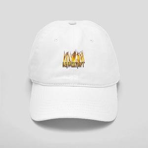 Drive Shaft Logo in Flames Cap