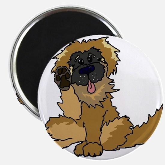 Cute Leonberger Magnet