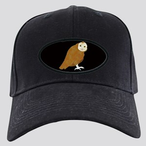 Midnight Owl Black Cap