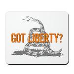 Got Liberty Rattlesnake Mousepad