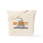 Got Liberty Rattlesnake Tote Bag
