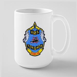USS TREPANG Large Mug