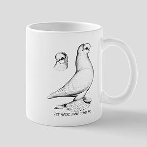 Royal Snow Tumbler Pigeon Mug
