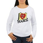 Anti Valentine's Day Women's Long Sleeve T-Shirt