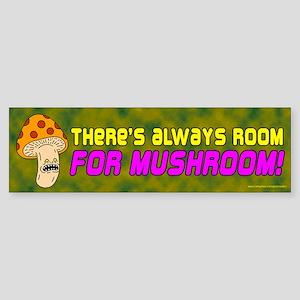 Room For Mushroom (sticker)