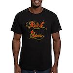 Rock Star Climber Men's Fitted T-Shirt (dark)