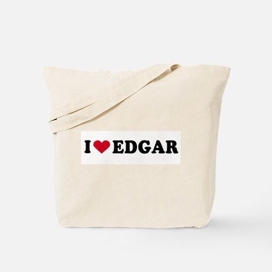 I LOVE EDGAR ~  Tote Bag