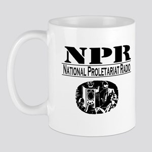 NATIONAL PROLETARIAT RADIO Mug
