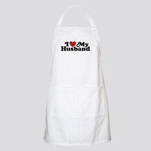 I Love My Husband Apron