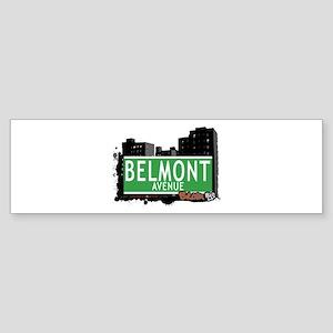 Belmont Av, Bronx, NYC Bumper Sticker