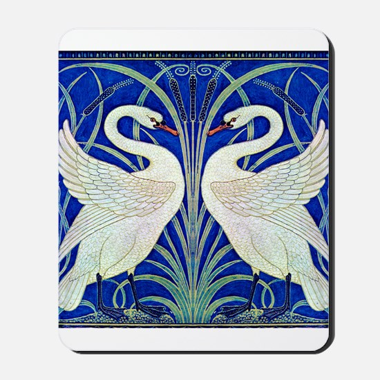 THE SWANS Mousepad