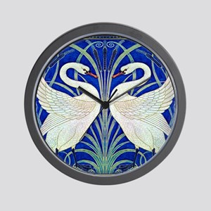 THE SWANS Wall Clock