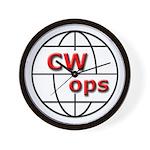 CWops Wall Clock