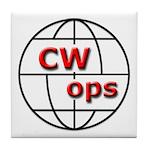 CWops Tile Coaster