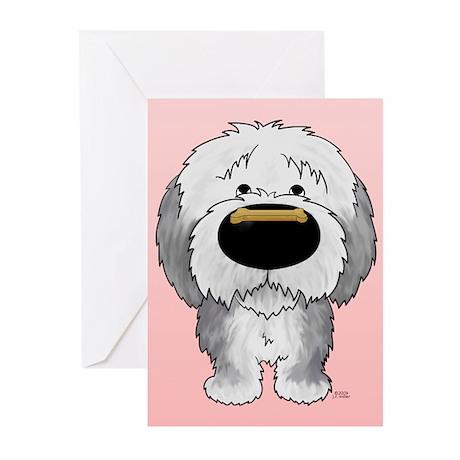 Sheepdog Valentine Greeting Cards (Pk of 20)