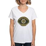Norco California Police Women's V-Neck T-Shirt