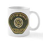 Norco California Police Mug