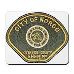 Norco California Police Mousepad