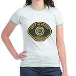 Norco California Police Jr. Ringer T-Shirt