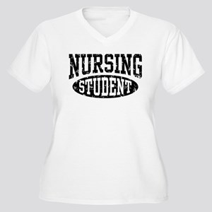 Nursing Student Women's Plus Size V-Neck T-Shirt