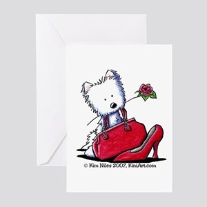 Westie Pcs Of Heaven Greeting Cards (Pk of 20)