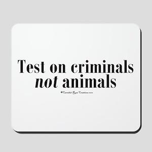 Criminal Behavior Mousepad