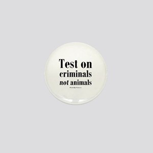 Criminal Behavior Mini Button