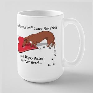 Sloppy Kisses Large Mug