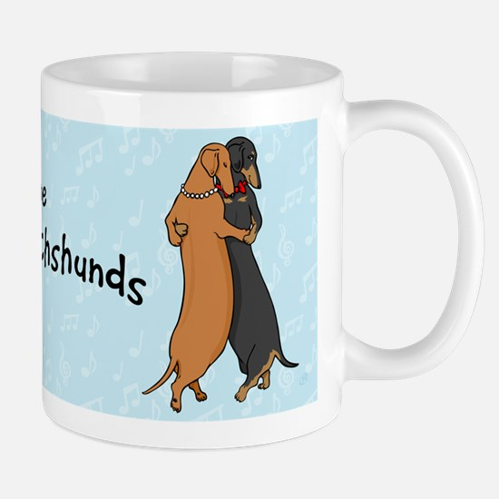 Dancing Dachshunds Mug