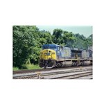 CSX Q190 Doublestack Train Rectangle Magnet (10 pa