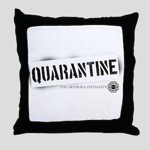 Quarantine - Dharma Initiative Throw Pillow