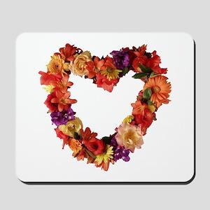 Heart of Flowers Mousepad