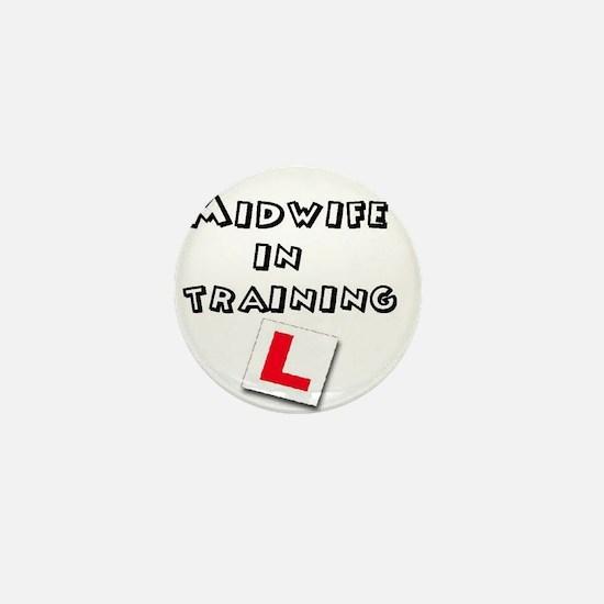 Cute Midwifery Mini Button