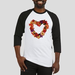 Heart of Flowers Baseball Jersey