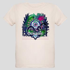 Lost Oceanic Heart Wings Organic Kids T-Shirt