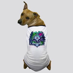 Lost Oceanic Heart Wings Dog T-Shirt