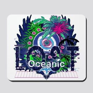 Lost Oceanic Heart Wings Mousepad