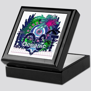 Lost Oceanic Heart Wings Keepsake Box