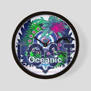 Lost Oceanic Heart Wings Wall Clock