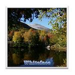 Whiteface pond Tile Coaster