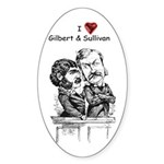 Love G&S Stickers (10-pk oval)