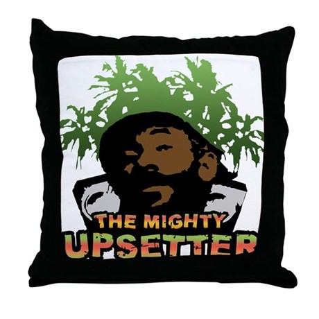 The Mighty Upsetter Throw Pillow