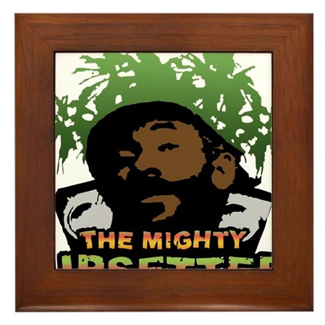 The Mighty Upsetter Framed Tile
