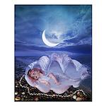 Sleeping Mermaid : Small Poster
