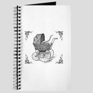 Steampunk Victorian cthulhu baby Journal